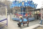 A playground bench